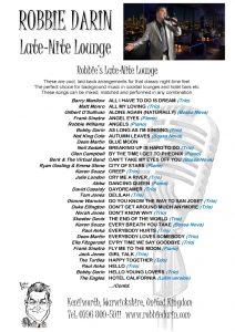 Late-Nite Lounge Songs