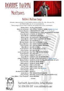 Matinee Songs