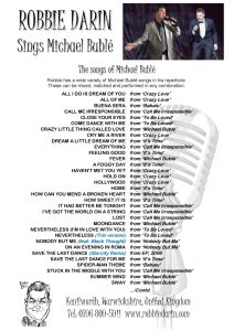 Michael Bublé Songs